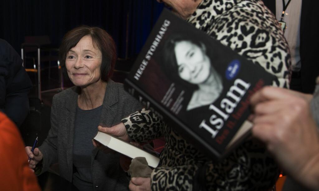 Hege Storhaug: Nå er hun positiv til forslag om å forby islam. Foto: Berit Roald / NTB scanpix