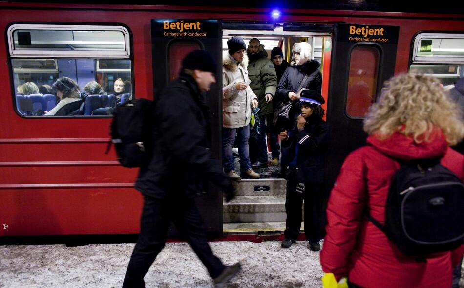 KONKURRANSE: Svenske SJ ønsker å kjøre persontog i Norge, og er klare for å konkurrere mot NSB. Foto: Espen Røst / Dagbladet