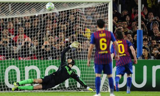 I TVERRLIGGEREN: Lionel Messi i 2012. Foto: Javier Soriano / AFP PHOTO / NTB Scanpix