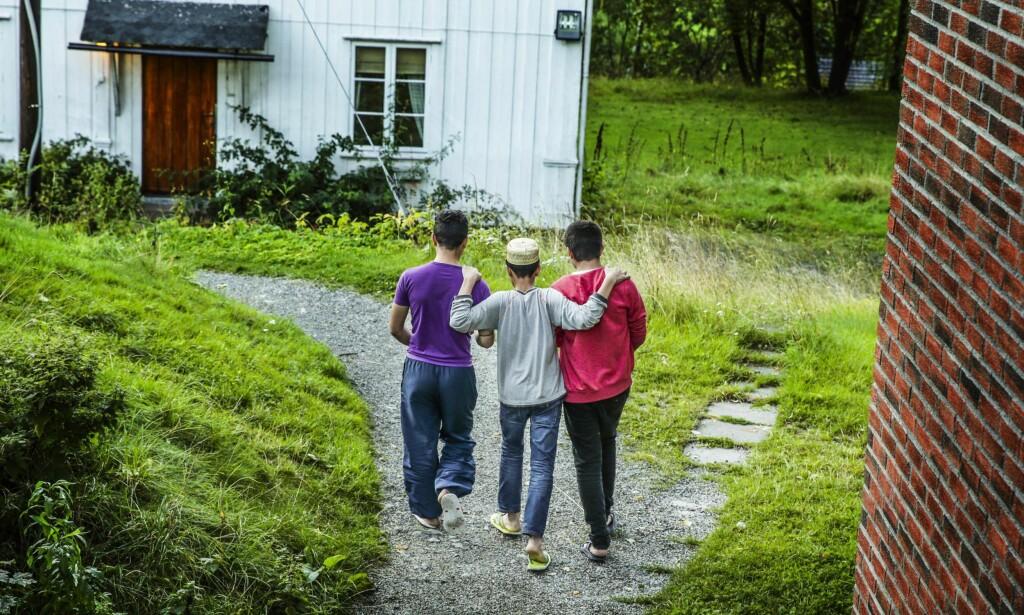 Regjeringen begår systematiske lovbrudd ved å overlate barn og unge til seg selv, mener kronikkforfatteren. Foto: Stein J. Bjørge / NTB Scanpix