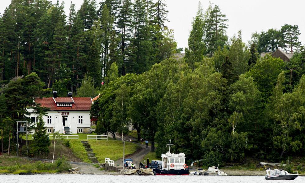KONFERANSE: En stor konferanse med en rekke aktører skal avholdes på Utøya fra mandag. Bildet er fra i fjor, da den første sommeleiren ble avholdt etter terrorangrepet fire år tidligere. Foto: Vegard Wivestad Grøtt / NTB Scanpix