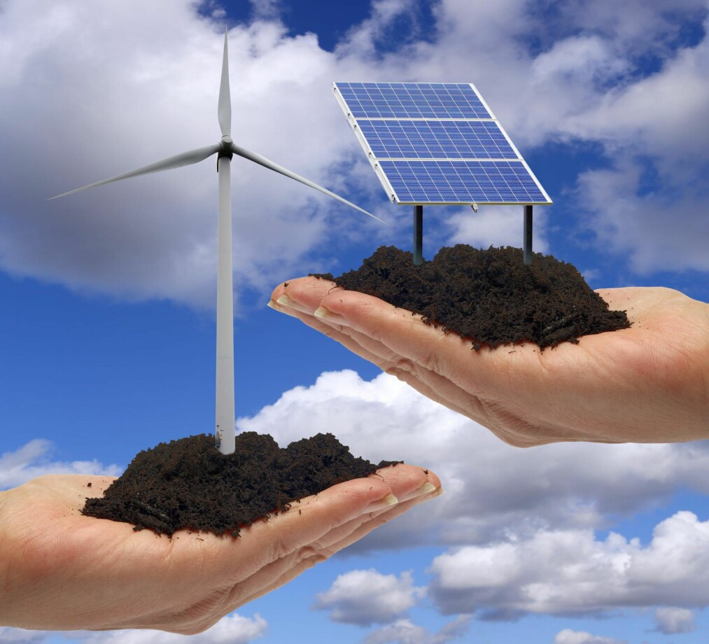 <strong>NYTT MARKED:</strong> Oljefondet ønsker å gå inn i sol og vindkraft-investeringer. Foto: Science Photo Library <div><br></div>