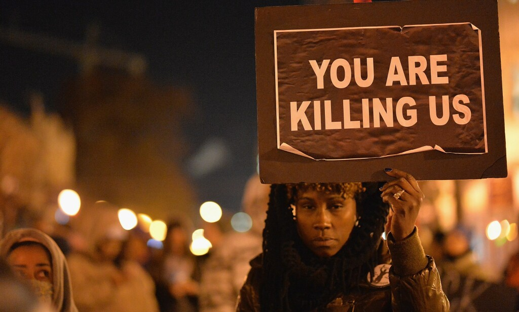 BLACK LIVES MATTER: Dagens borgerrettskamp er ikke den samme som din bestefars, sier amerikanske ungdommer. Nå slåss de mot politivold. Foto: NTB Scanpix