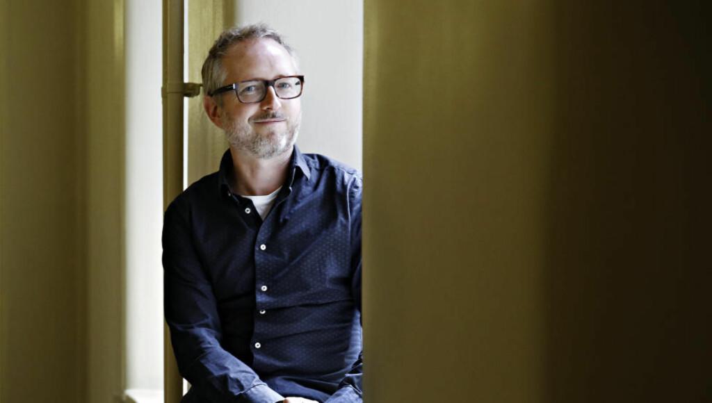 PÅ VEI UT: SVs stortingsrepresentant Bård Vegard Solhjell.