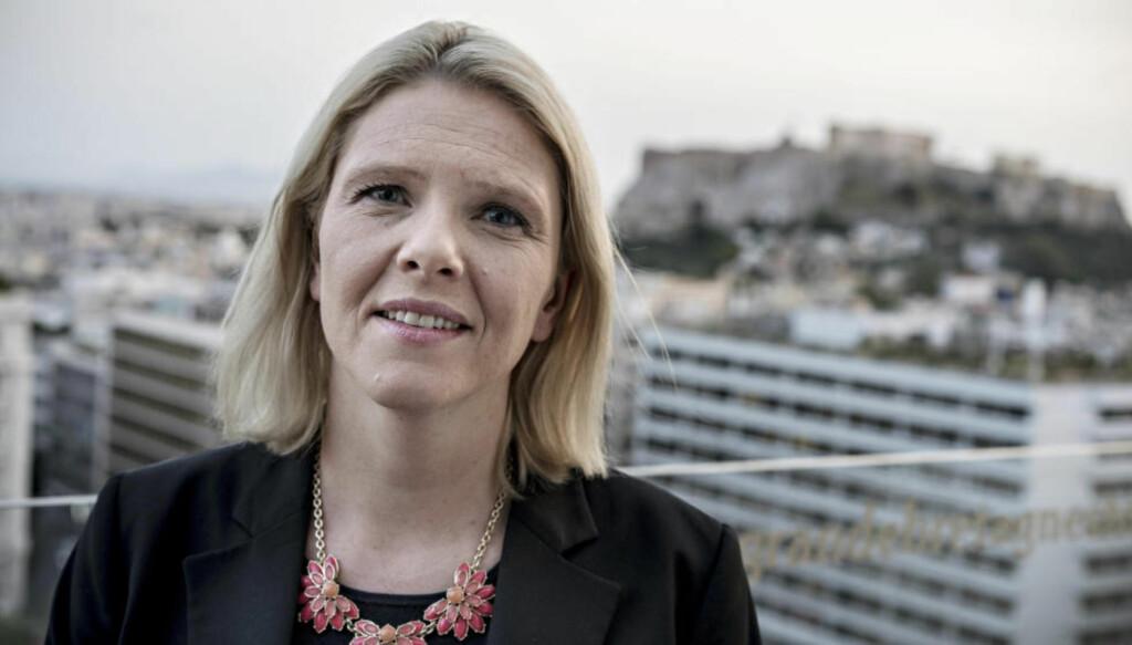 TAKKER: Innvandrings- og integreringsminister Sylvi Listhaug er glad for støtten Dagbladets og Ipsos' måling gir henne. Foto: Øistein Norum Monsen / Dagbladet