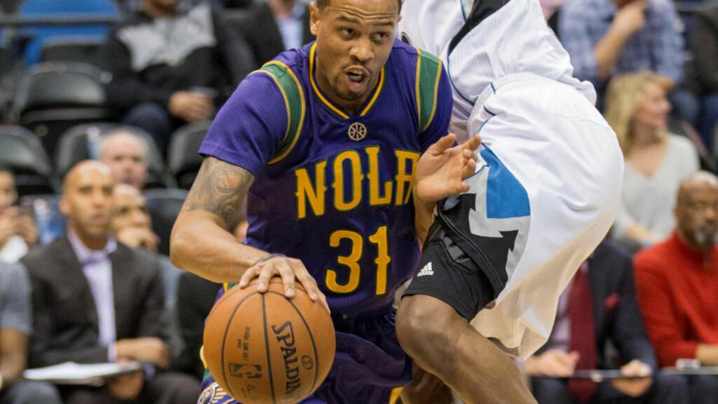 DREPT: Bryce Dejean-Jones, som spilte på New Orleans Pelicans, døde av skadene han fikk da han ble skutt natt til lørdag. Foto: Jesse Johnson-USA TODAY Sports/File Photo