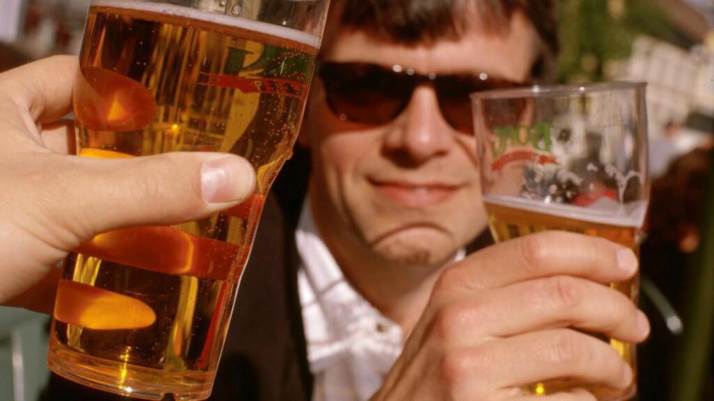 ØL-STANS: En rekke bryggerier kan bli tatt ut i streik neste uke. Det kan føre til tomme tappekraner over hele landet, varsler Bryggeri- og drikkevareforeningen. Illustrasjonsfoto: Bård Løken / NN / Samfoto