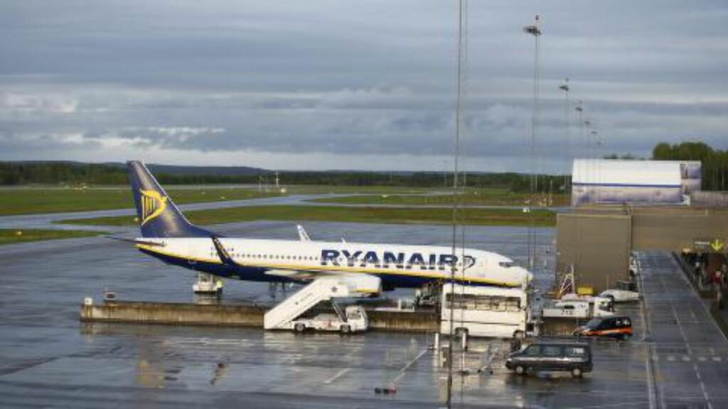 LEGGER NED: Styret ved Moss lufthavn legger ned dersom forventet framtidig volum fra Ryanair bekreftes. Foto: Terje Bendiksby / NTB scanpix