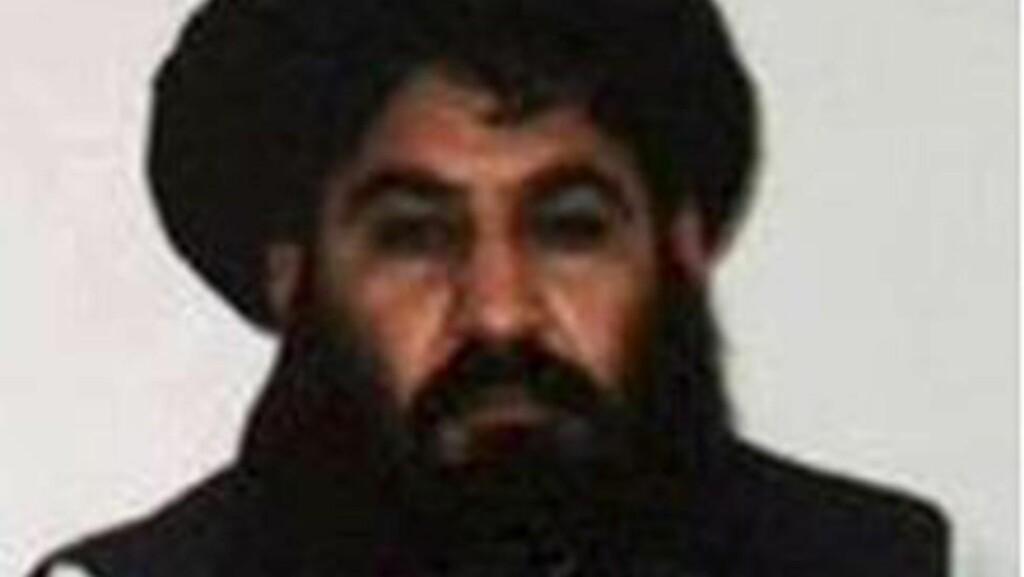 SKAL VÆRE DREPT: Talibans leder mulla Mansour. Foto: Wiki Commons