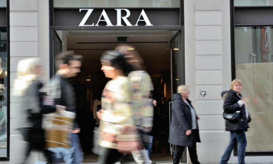 <strong>NEKTER:</strong> Spanske Zara er blant klesprodusentene som nekter å fortelle hvor de produserer klærne sine, skriver artikkelforfatteren. Foto: NTB Scanpix