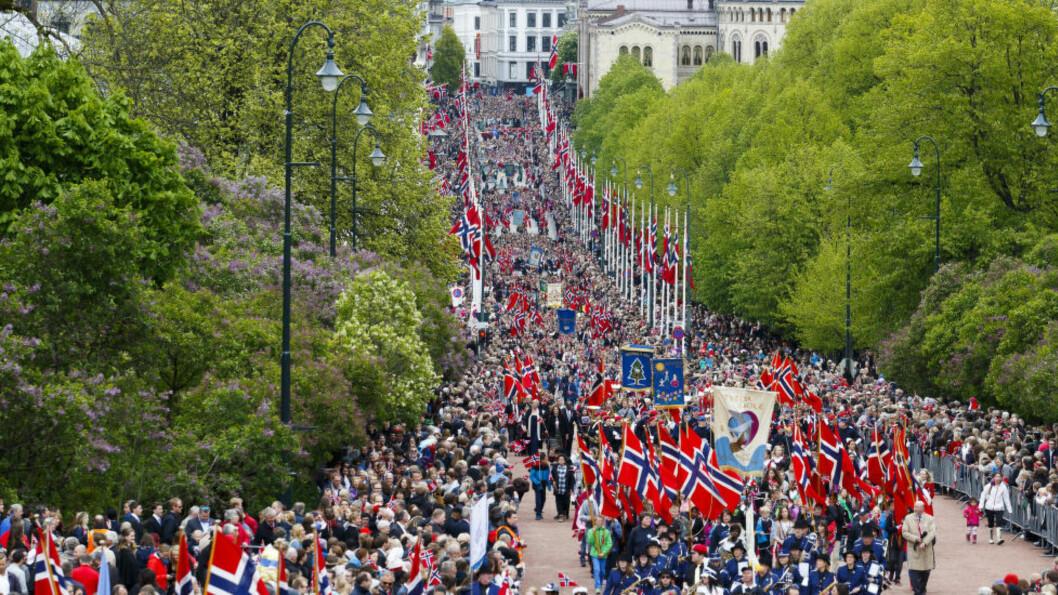 <strong>BOIKOTT?:</strong> Løsningen er nok ikke å boikotte nasjonaldagen.  Foto: Heiko Junge / NTB Scanpix