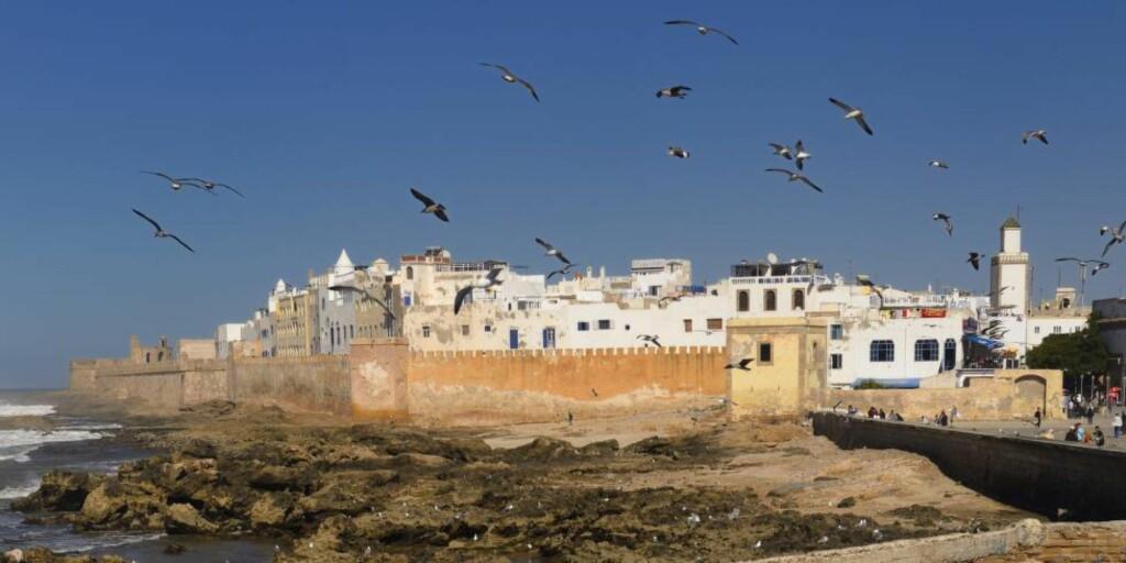 FOR BARN: Det er to grunner til at den gjorde inntrykk. For det første, fordi den ble presentert som underholdning. Og ikke nok med det. Hele historien var ment å underholde barn, skriver Tuftebarten. Bildet er fra Essaouira, Marokko Foto: Scanpix
