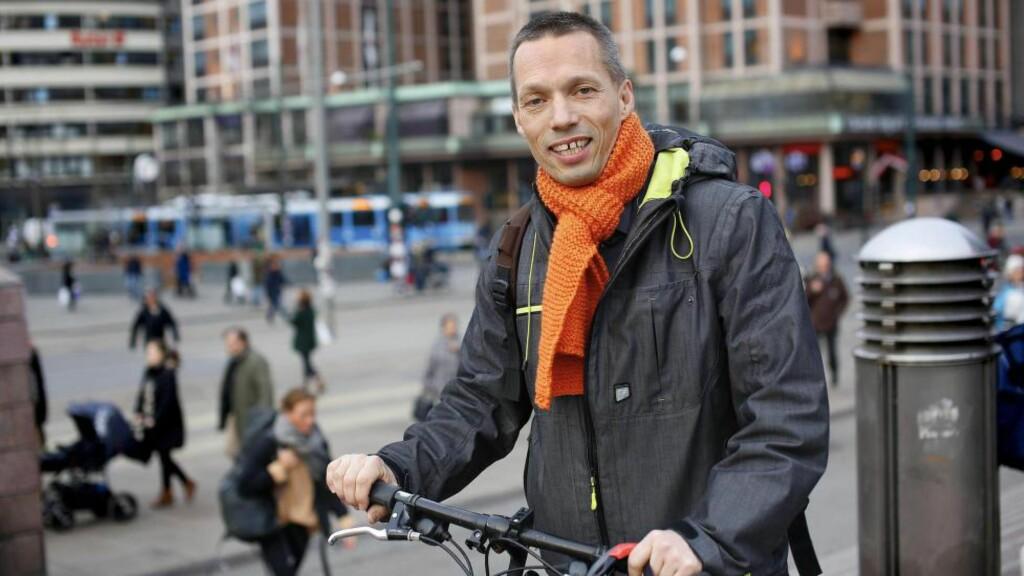 PÅ VEGNE AV SEG SELV: Sturla J. Stålsett understreker overfor Einar Gelius at han skriver på vegne av seg selv. Foto: Ingar Storfjell / NTB Scanpix