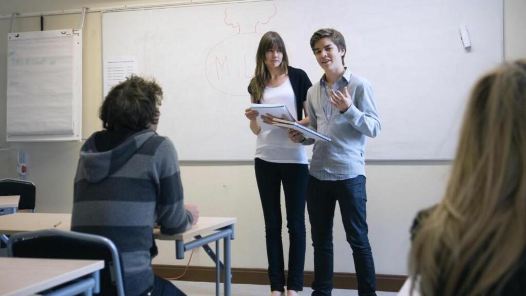 VALG: Utdanningsvalg og studieretninger planlegges i stigende grad ut fra avkasting og lønnsomhet, skriver artikkelforfatteren. Foto: Maskot / NTB Scanpix
