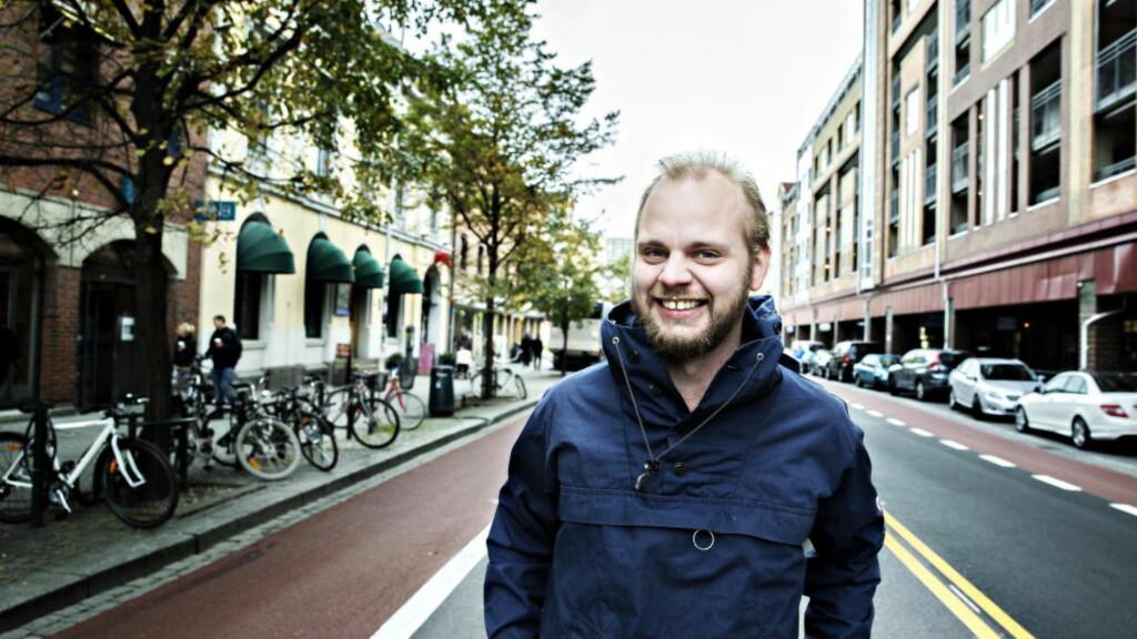 RUSKONSERVATIV: Mímir Kristjánsson forsvarer forbudet mot andre rusmidler enn alkohol. Det er alt annet enn solidarisk, skriver Aksel Braanen Sterri.  Foto: Nina Hansen / Dagbladet