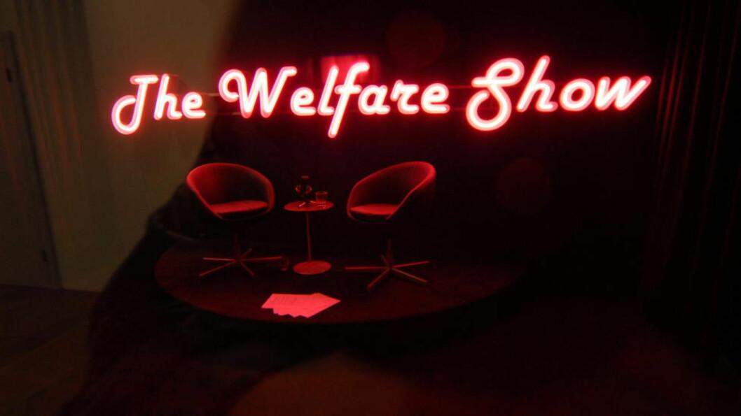 PRIVATISERING: Velferdstjenester er ikke som andre tjenester. Men det betyr ikke at forbud mot profitt er løsningen, skriver Aksel Braanen Sterri. BIldet er fra The Wefare Show, en utstilling på Serpentine Gallery i London. Ingar Dragset ville røske opp i folks oppfatninger av en velferdsstat i forfall.  Foto:  Keith Hammett/Dagbladet