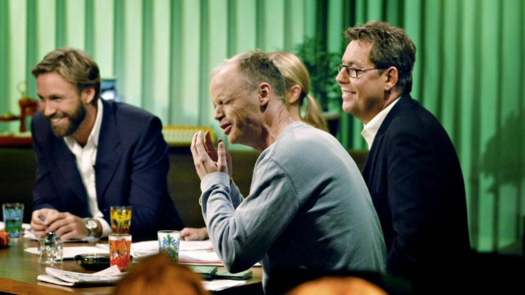 BROMANCE : I «Torsdagsklubben» kunne Harald Eia le med Otto Jespersen og Thomas Giertsen kveld etter kveld.