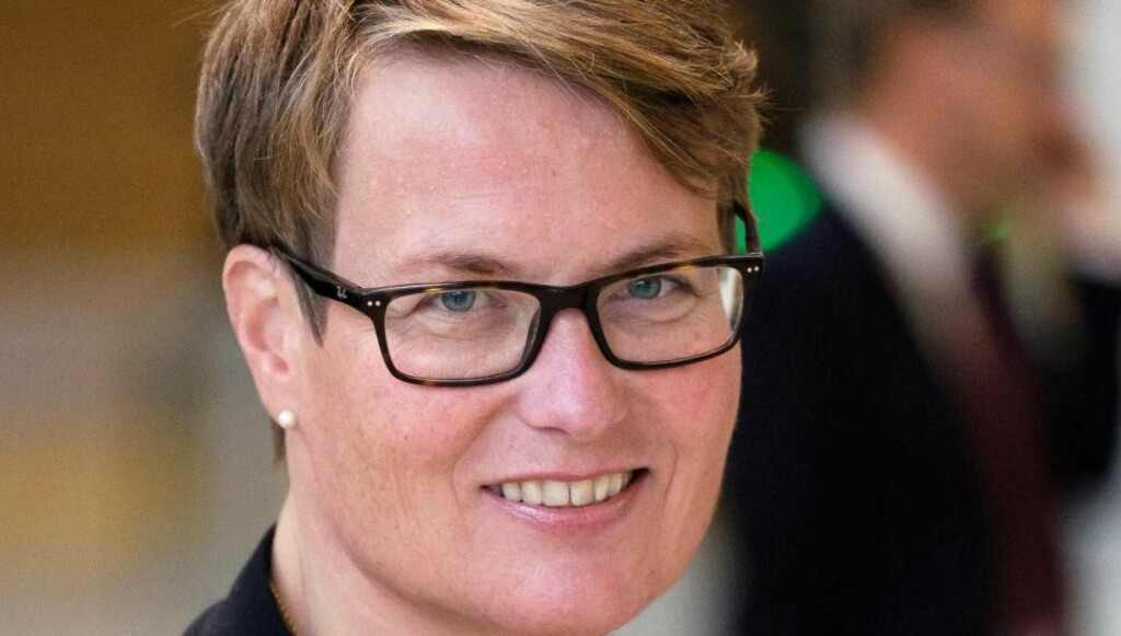 """""""KANTETE"""":  Klima- og miljøminister Tine Sundtoft."""