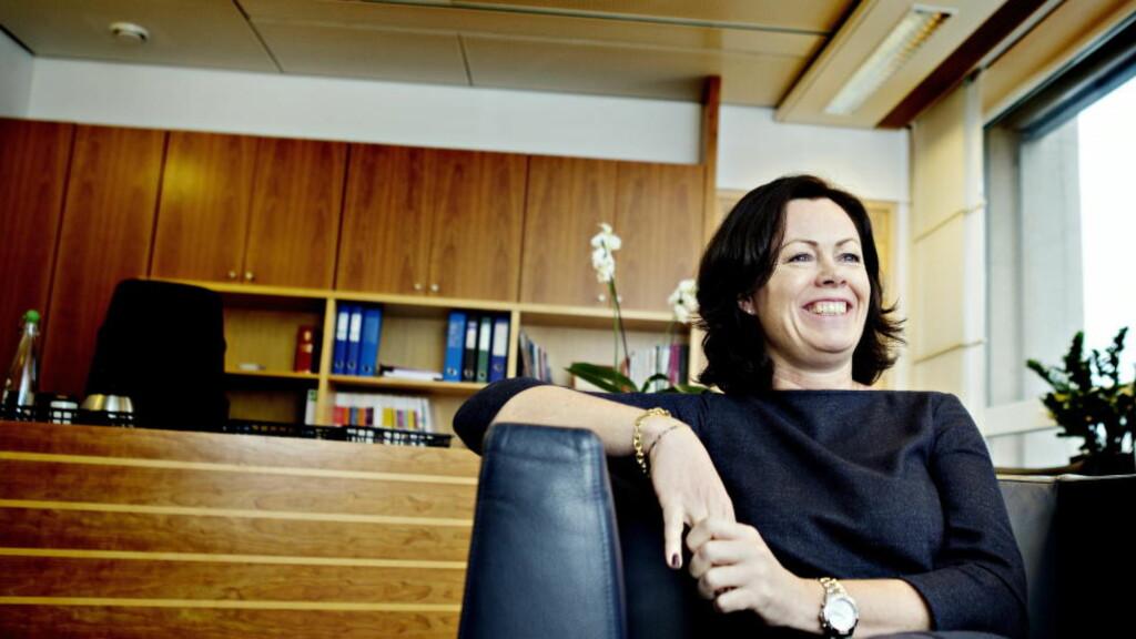LIKESTILLINGSMINISTER: Solveig Horne har tidligere i år fra FNs talerstol løftet frem viktigheten av seksuell og reproduktiv helse og rettigheter. Foto: Nina Hansen / Dagbladet