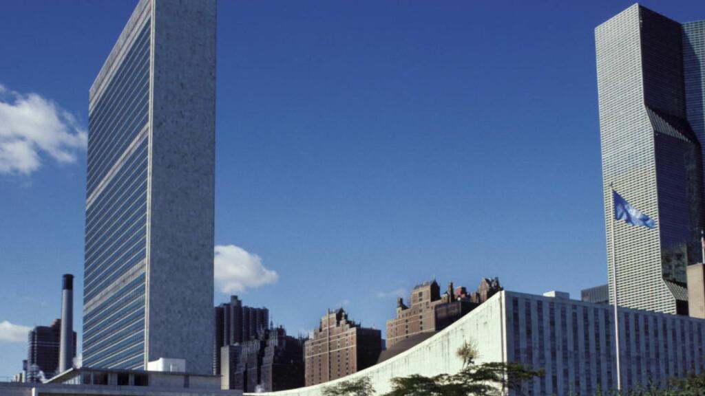 FN: FNs hovedkvarter. New York, USA foto: NTB / Scanpix