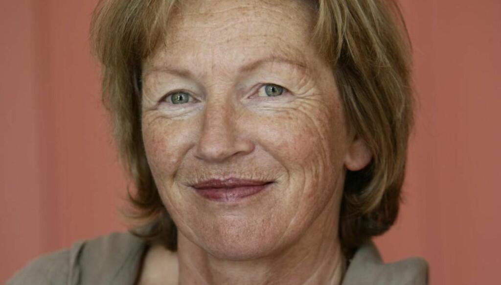 68-ER: Gunnhild Corwin mener alderen har gjort henne usynlig. - Jeg har det flott som 68-åring, men jeg må skrike for å bli hørt og være nærmest utagerende for å bli sett, skriver hun. Foto: gunnhildcorwin.com