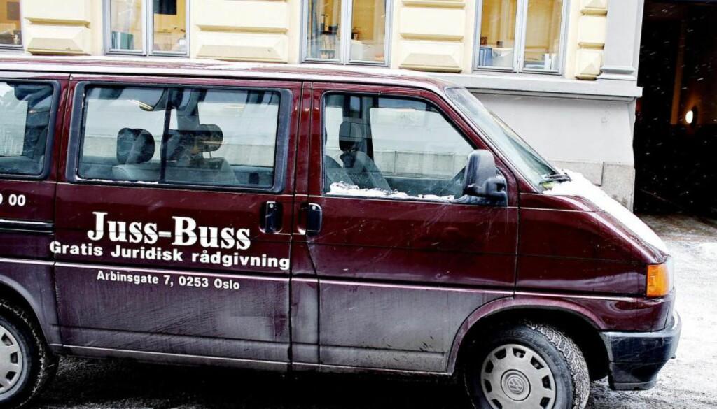 ØKENDE BEHOV: Arbeidsrett er et av fagområdene der Juss-Buss merker størst pågang.  Foto: OLE C. H. THOMASSEN / Dagbladet
