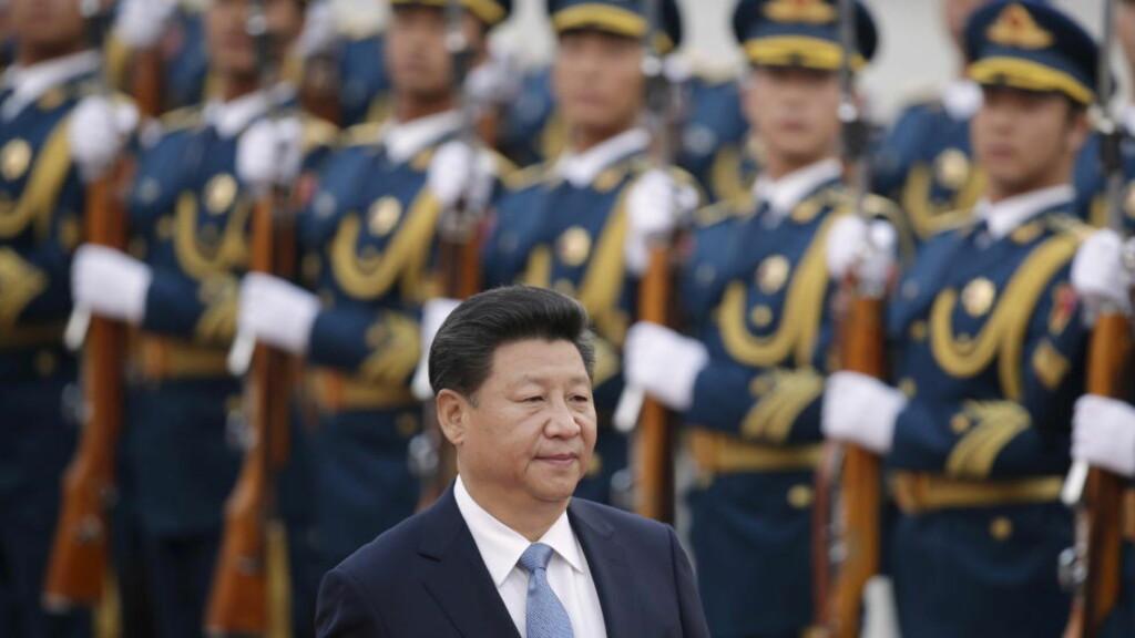TIL LONDON: Kinas president Xi Jinping kommer i kveld til London. Foto: REUTERS/Jason Lee/Scanpix