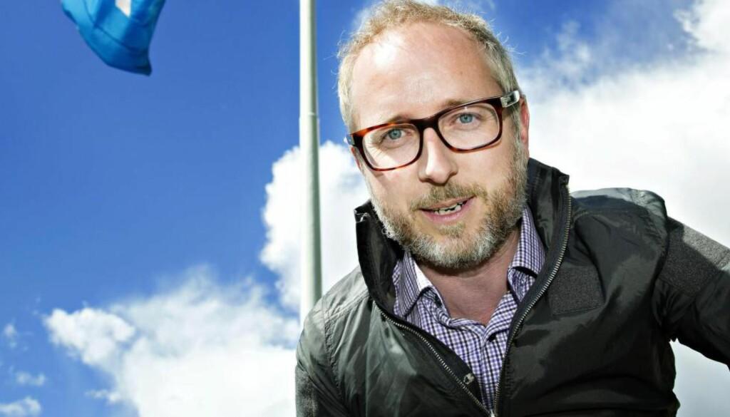 OPPGJØR: Bård Vegar Solhjell (SV) har servert et oppspark til idédebatt om norsk kulturpolitikk.  Foto: Nina Hansen / Dagbladet