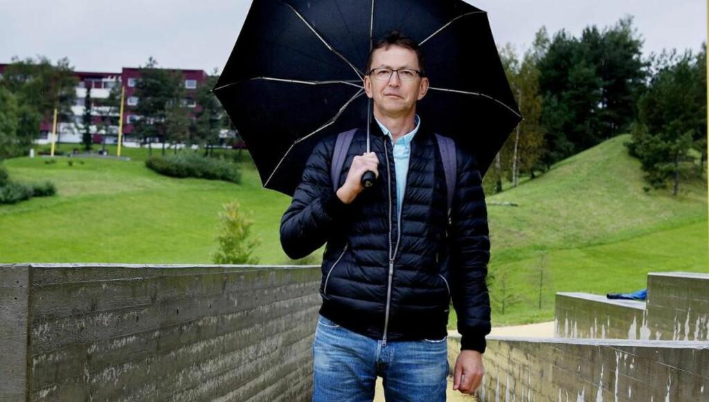 GRORUDDALEN: Halvor Fosli har skrevet bok om å være «fremmed i eget land», etter samtaler med «den tause majoritet» i Groruddalen i Oslo. Boka ble kommentert i Dagbladet onsdag. Foto: Siv Johanne Seglem /Dagbladet