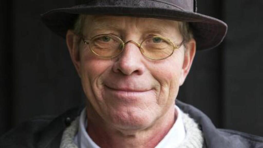 SVARER: Niels Chr. Geelmuyden svarer på kritikken fra Mattilsynet etter hans kritiske kronikk tirsdag . Foto: Gorm Kallestad / NTB Scanpix