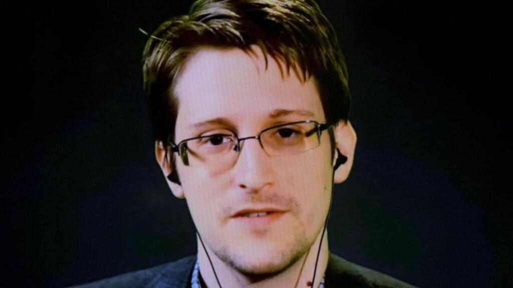 VARSLET:  Edward Snowden.