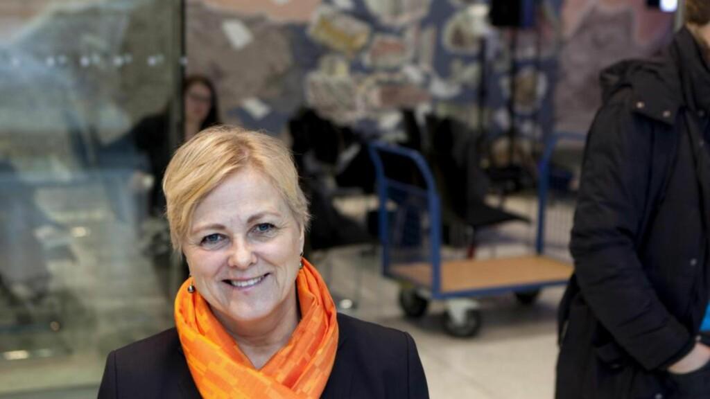 ANSVARLIG: Kulturminister Thorhild Widvey. Foto: Anders Grønneberg / Dagbladet