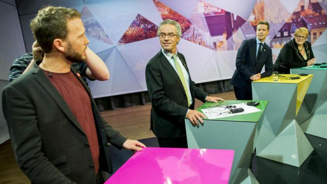 FRAMTIDA:  Hva om disse fire partiene våren 2016 presenterte et grønt regjeringsalternativ? Foto: NTB Scanpix