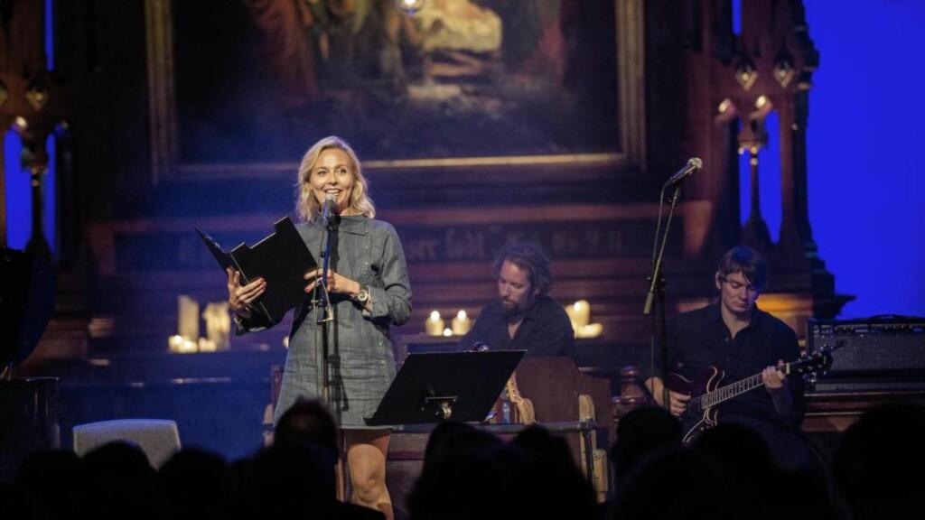 MOBILISERING:  Linn Skåber og «Åpen Folkekirke» med støttekonsert i Jakob kirke i Oslo.