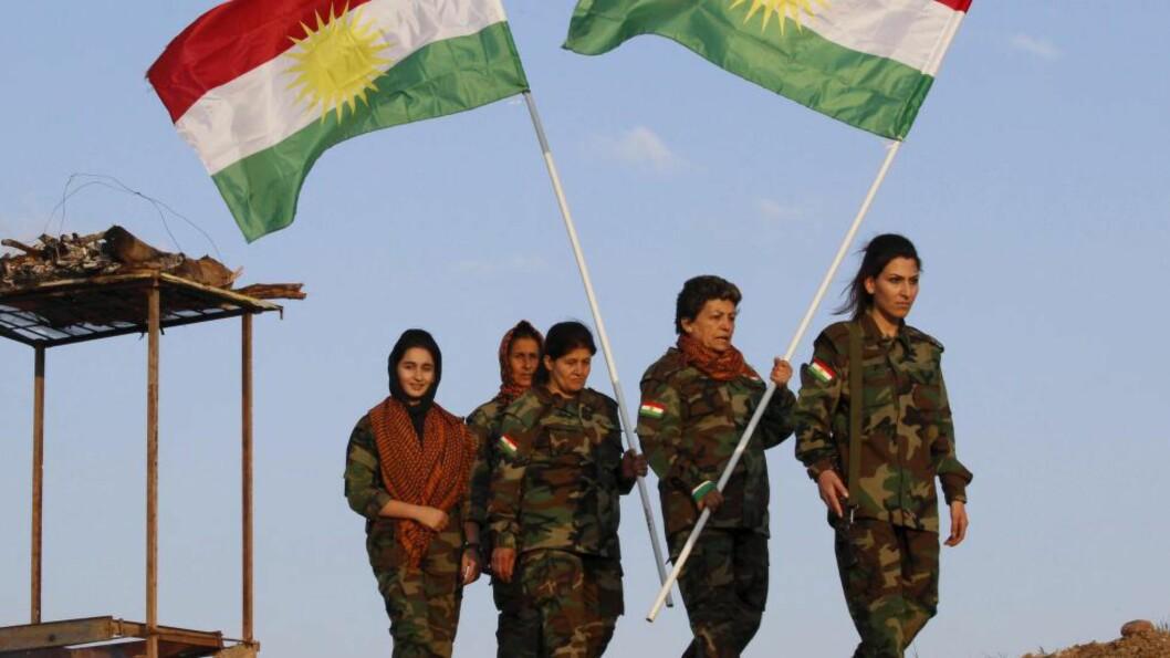 <strong> SENDES TIL IRAK:</strong>  Norske militære instruktører vil snart være på plass i Bagdad og Erbil for å utdanne og trene soldater i den irakiske hæren og Peshmerga-styrkene til de kurdiske selvstyremyndighetene i Irak, skriver utenriksminister Børge Brende og forsvarsminister Ine Eriksen Søreide. Foto: NTB Scanpix