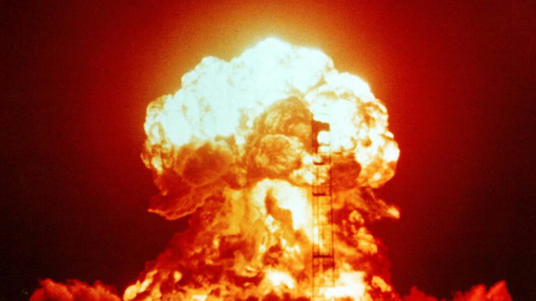 Atomvåpen må forbys,skriver Bård Vegar Solhjell. Foto: National Nuclear Security Administration.