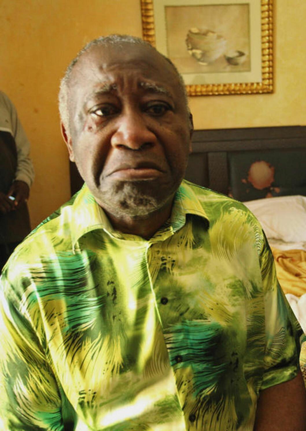 <strong>MISFORNØYD:</strong> Elfenbenskysten-president Laurent Gbagbo ble tatt og tvunget til å overgi makta. Foto: Stringer/Reuters