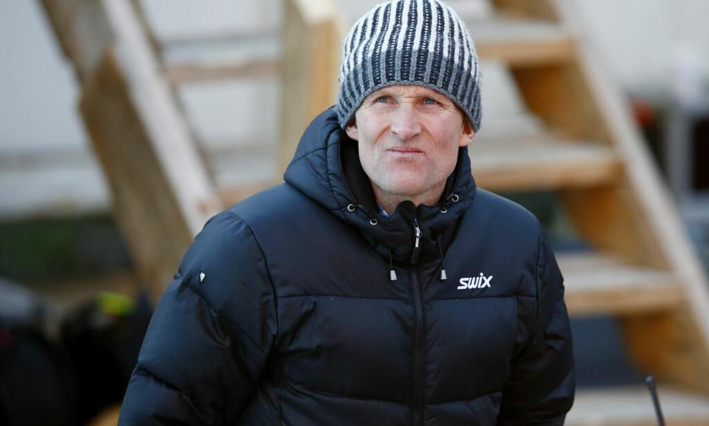 FORNØYD: Vegard Ulvang er strålende fornøyd med innføringen av et forbud mot fluor under langrennsskiene. Foto: Håkon Mosvold Larsen / NTB scanpix