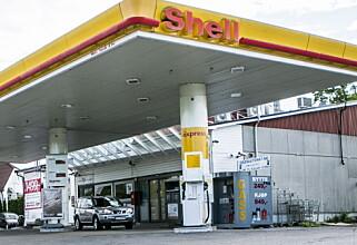 DRIVES UNDER LISENS: De norske Shell-stasjonene drives av finske St1. Foto: Christian Roth Christensen / Dagbladet