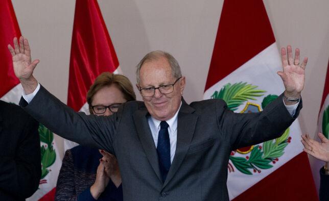 image: Kuczynski blir Perus neste president