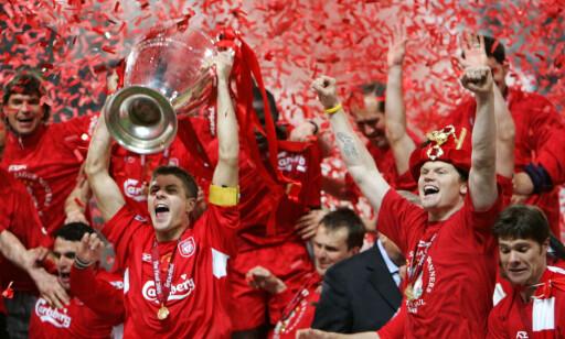<b>STOR KARRIERE:</b> John Arne Riise kan blant annet se tilbake på Champions League-gull med Liverpool. Foto: AP Photo/Thomas Kienzle/NTB Scanpix