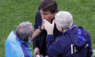 FIKK HJELP: Antonio Conte. Foto: REUTERS/Max Rossi
