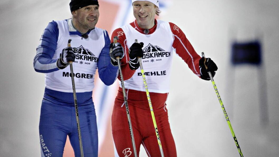 <strong> RENE NOK:</strong> . Det er ingen grunn til å tro annet enn at Torgny Mogren og Bjørn Dæhlie vant sine skirenn på 1990-tallet på ærlig vis. FOTO: Lars Eivind Bones.