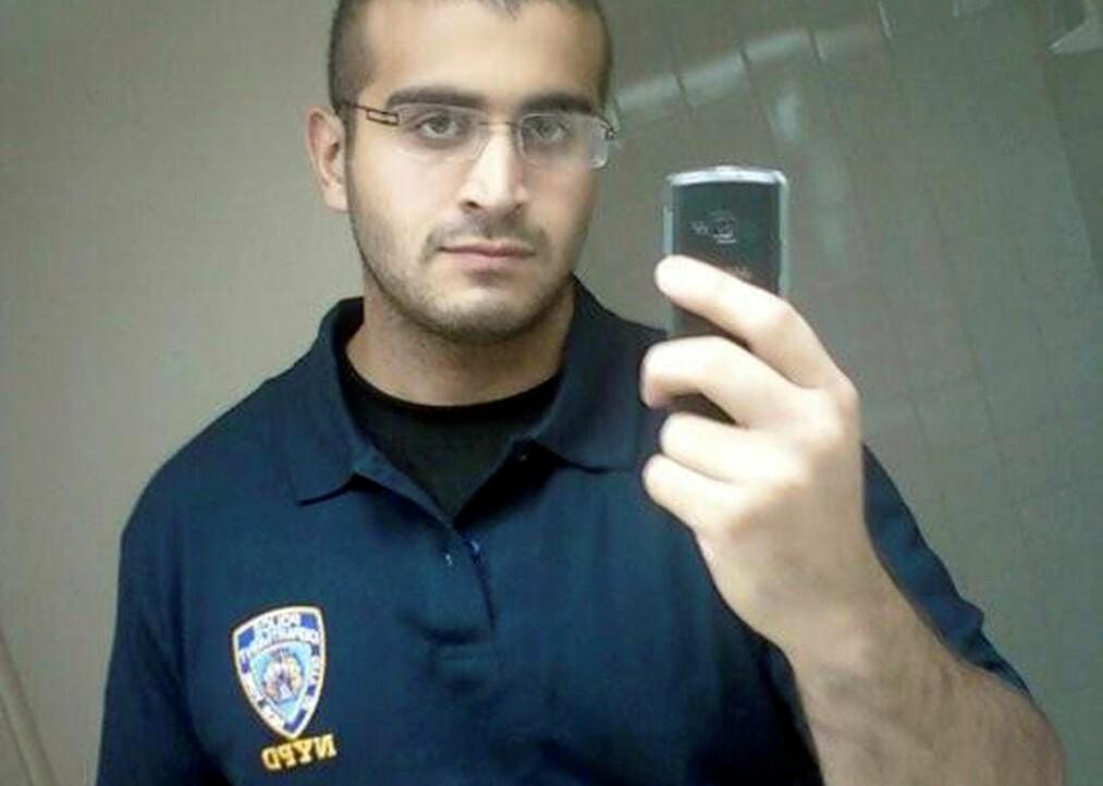 DRAPSMANNEN: Omar Mateen er identifisert som mannen som drepte 49 på homseklubben Pulse i Orlando. Mye tyder på at han selv var homofil.  Foto: Reuters / NTB Scanpix<div><br></div>