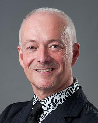 Direktøren for kunsthåndverk og design hos Nasjonalmuseet, Widar Halén, er kurator for den siste utstillingen ved Kunstindustrimuseet. Foto: Nasjonalmuseet