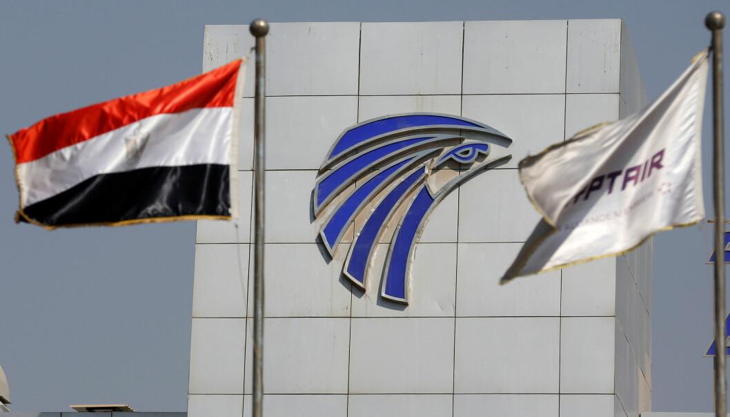 <strong>SJOKKERENDE:</strong> Styrten var ikke den første alvorlige hendelsen EgyptAir har vært innblandt i. Her vaier Egypt and EgyptAir flagg foran flyselskapets bygning i Kairo. FOTO: &nbsp;REUTERS/Amr Abdallah Dalsh/NTB Scanpix.&nbsp;