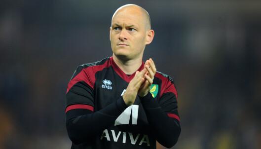 <strong>VIL BEHOLDE TETTEY:</strong> Norwich-manager Alex Neil har gitt nordmannen beskjed om å bli værende i klubben. Foto: Scanpix