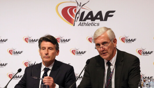 <strong>HARD DOM:</strong> Rune Andersens konklusjon betyr at Russlands friidrettsutøvere ikke får delta i OL, så sant de ikke slipper gjennom bakdøra. Foto: NTB Scanpix