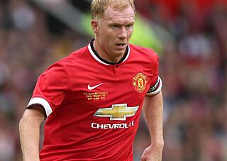 LEGENDE: Rooney og Scholes spilte sammen i Manchester United. Foto: Action Images via Reuters / Alex Morton Livepic