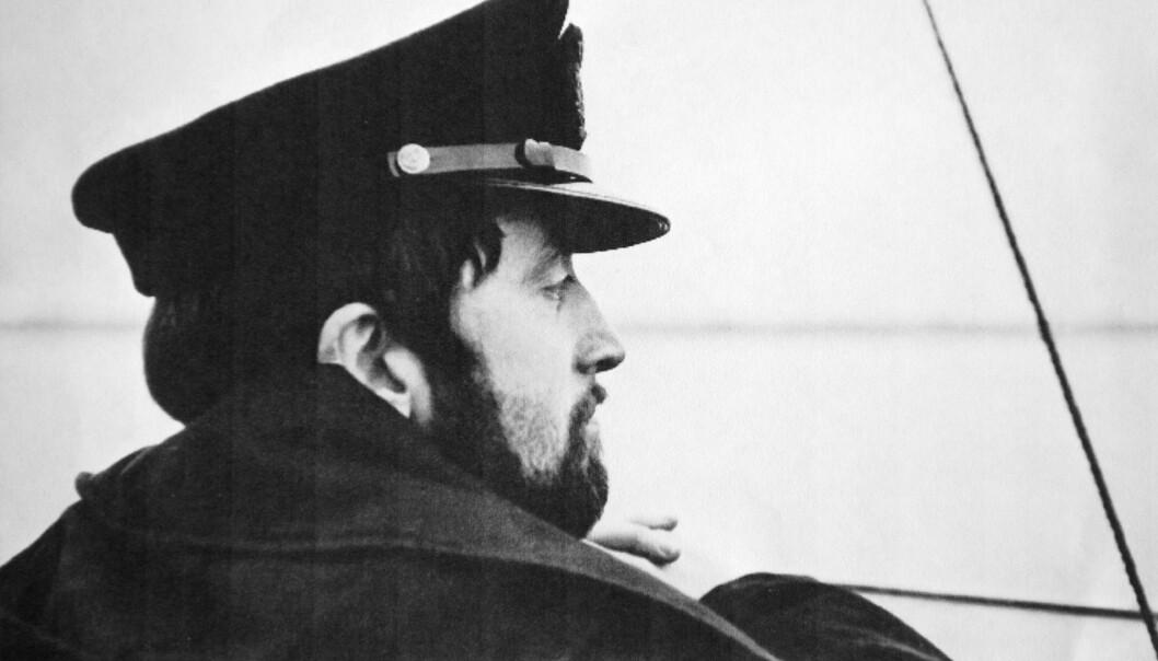 <strong>SKJEGGETE UBÅTKAPTEIN:</strong> John Jeanette Solstad Remø  jobbet i Forsvaret fra 1969 til 1982. I denne perioden var hun ubåtsjef i fire år. Foto: Privat